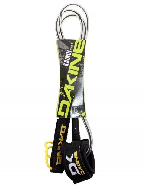 DaKine Kainui surfboard leash 6ft - Black/Clear
