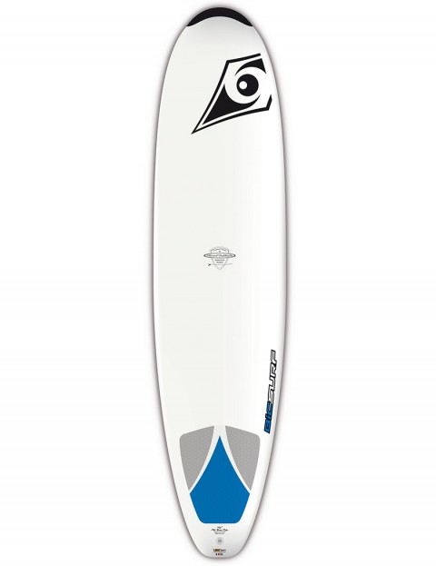 Bic Mini Nose Rider Surfboard 7ft 6 - White