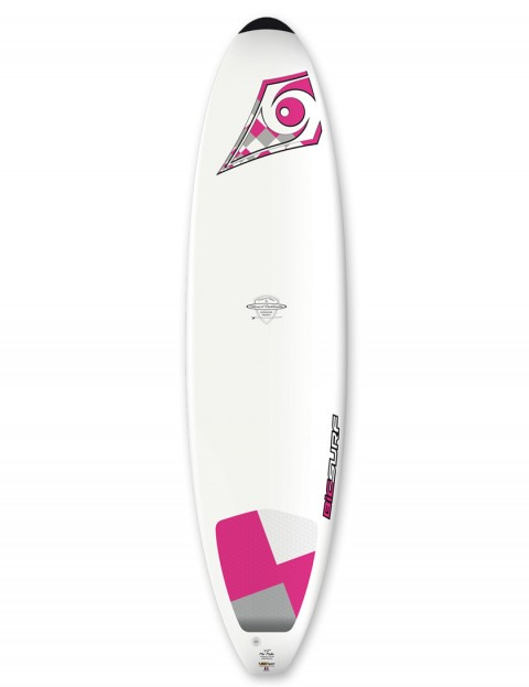 Bic DURA-TEC Wahine Mini Malibu surfboard 7ft 3 - Pink