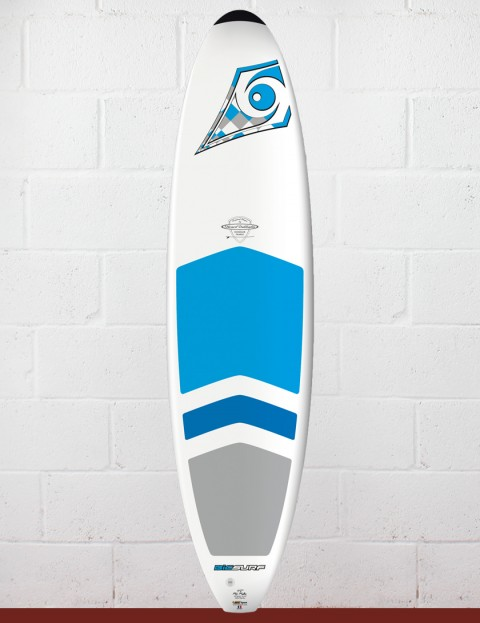 Bic DURA-TEC Padded Mini Malibu surfboard 7ft 3 - Blue