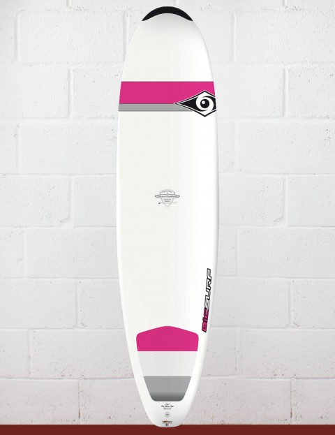 Bic DURA-TEC Wahine Mini Nose Rider surfboard 7ft 6 - Pink