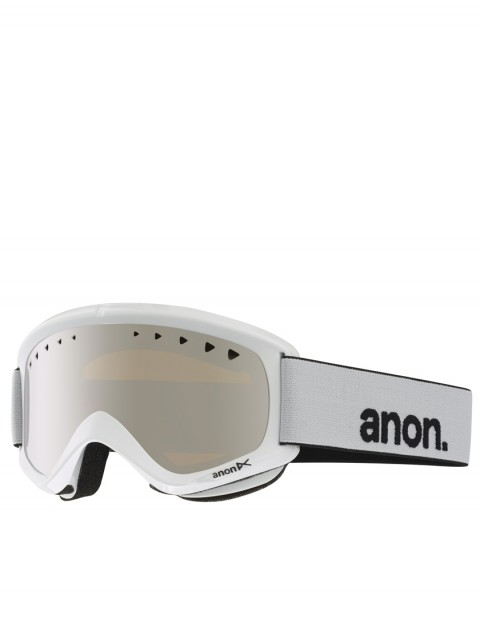 Anon Helix snow goggles - White/Silver Amber