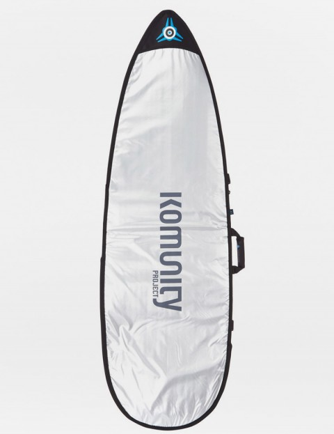 Komunity Project Shortboard Day Use 5mm Surfboard bag 5ft 8 - Silver