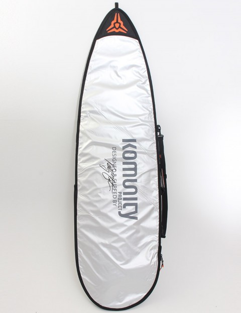 Komunity Project Shortboard Day Use 5mm Surfboard bag 6ft - Silver