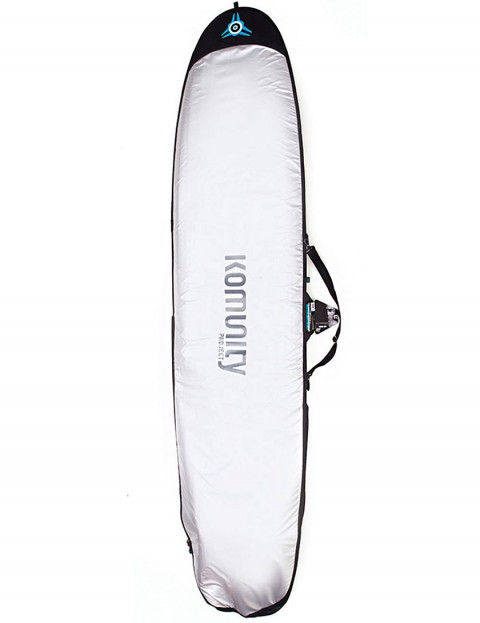 Komunity Project Longboard Day Use 5mm Surfboard bag 9ft 2 - Silver