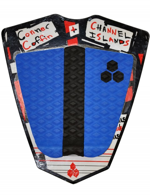 Channel Islands Conner Coffin Tail pad - Navy/Black