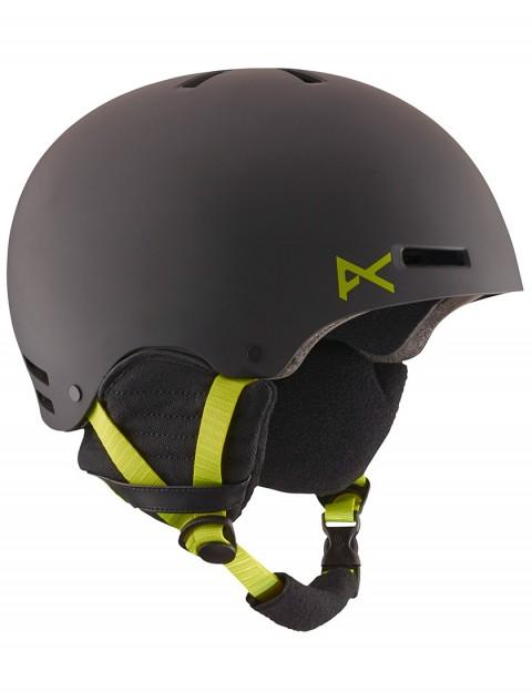 Anon Raider helmet - Black/Green