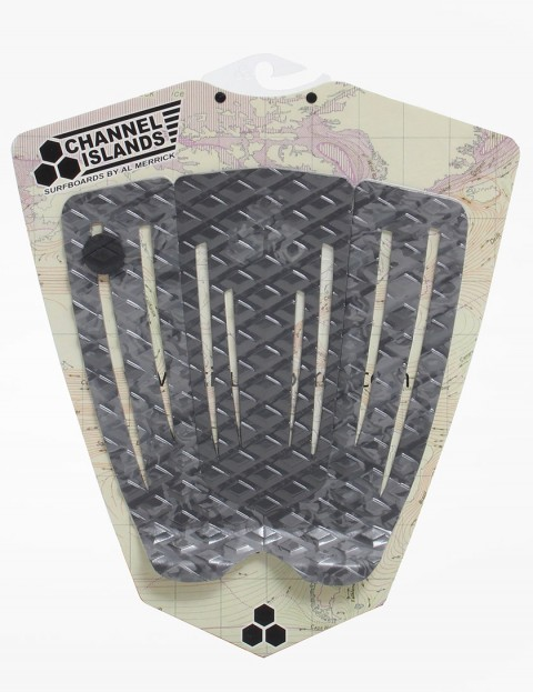 Channel Islands Cutout Flat Tail pad - Camo/Black