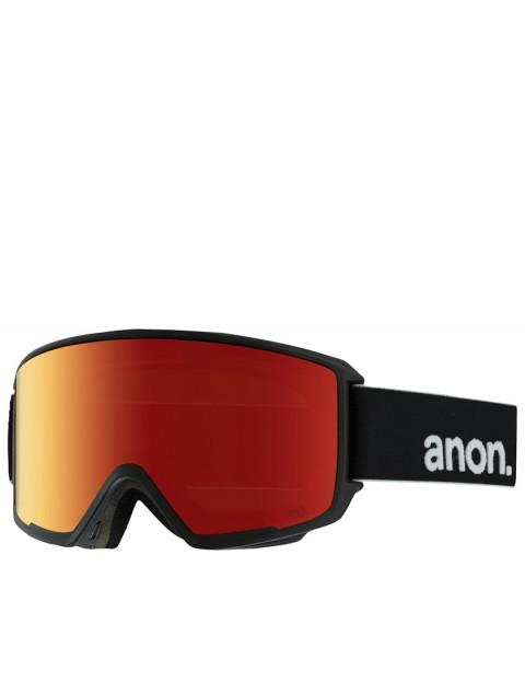 Anon M3 snow goggles - Black/Red Solex