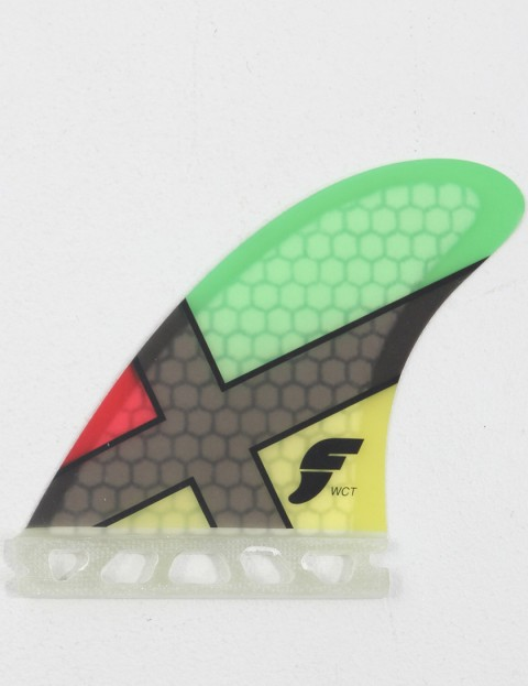 Future Fins WCT (Medium) Tri fin set - Rasta