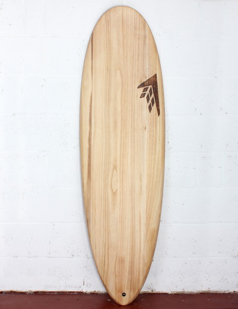 Firewire Timbertek Greedy Beaver surfboard 5ft 6 FCS II - Natural Wood