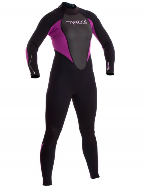 Typhoon Ladies Storm 3/2mm Wetsuit 2016 - Iris/Black
