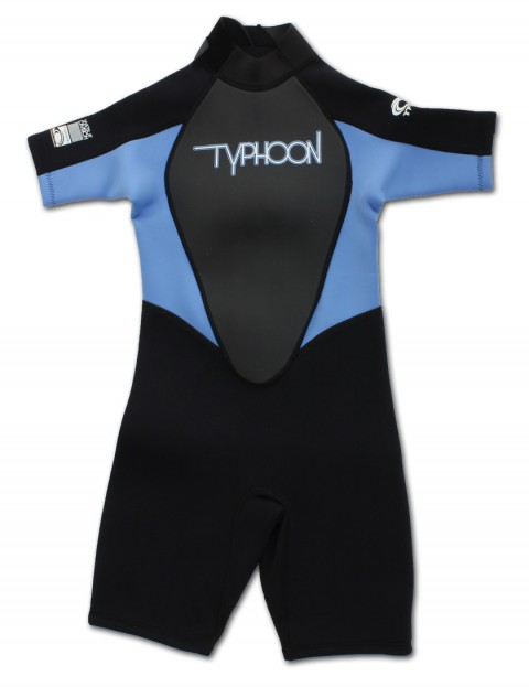 Typhoon Girls Shorty 3/2mm wetsuit 2016 - Black/Periwinkle