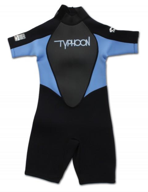Typhoon Girls Shorty 3/2mm wetsuit 2016 - Black/Periwinkle