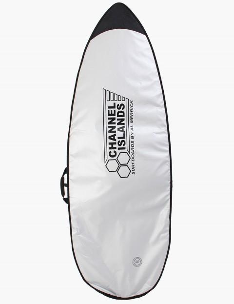 Channel Islands Team Light Shortboard 5mm Surfboard bag 6ft - Silver