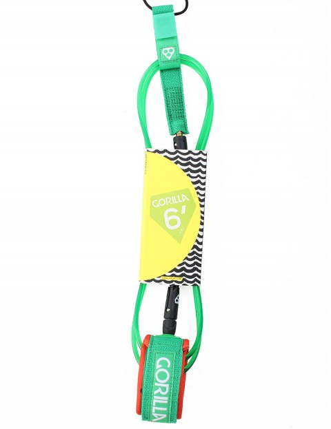 Gorilla Comp surfboard leash 6ft - Melon