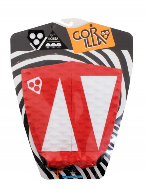 Gorilla Rozsa This Way surfboard tail pad - Red