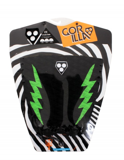 Gorilla Kyuss King Pop Pow surfboard tail pad - Black