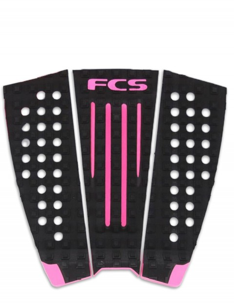 FCS Julian Wilson Surfboard Tail Pad - Black/Hot Pink