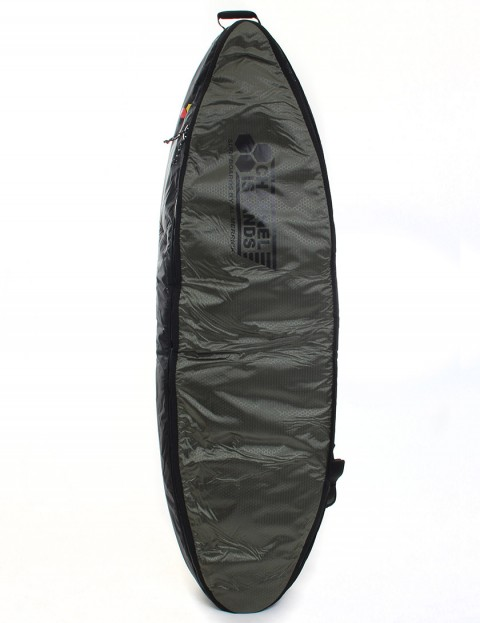 Channel Islands CX3 Travel Light Coffin Triple Surfboard bag 10mm 7ft 0 - Army Green