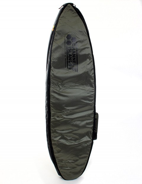 Channel Islands CX2 Travel Light Coffin Double 10mm Surfboard bag 7ft - Army Green