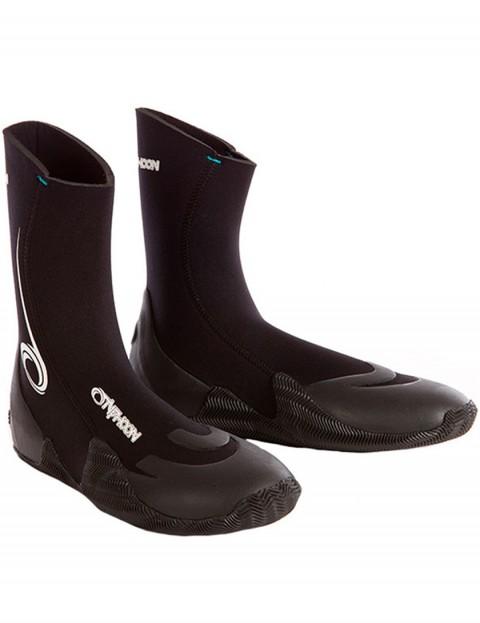 Typhoon Vortex Round Toe 5mm Wetsuit Boots - Black