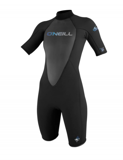 O'Neill Ladies Reactor Shorty 2mm wetsuit 2016 - Black/Black/Black