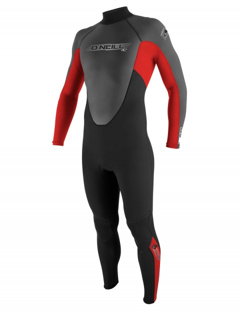 O'Neill Boys Reactor 3/2mm Wetsuit 2017 - Black/Red Graphite
