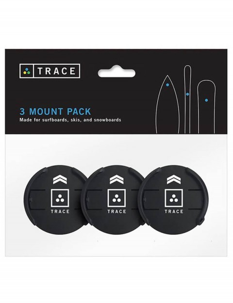 Trace Mount Three Pack - Black