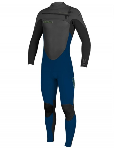 O'Neill SuperFreak Chest Zip 3/2mm Wetsuit 2016 - Deep Sea/Black/Graphite