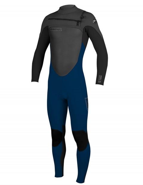 ONeill SuperFreak Front Zip 5/4mm Wetsuit 2016 - Deep Sea/Black/Graph