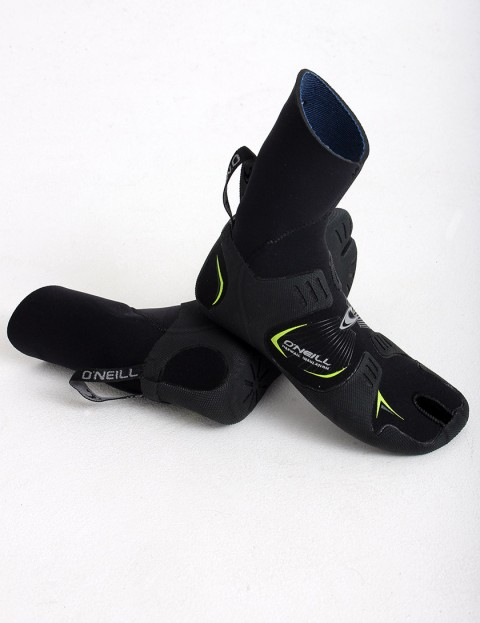 Oneill Wetsuits Mutant Split Toe 3mm Wetsuit boots - Black