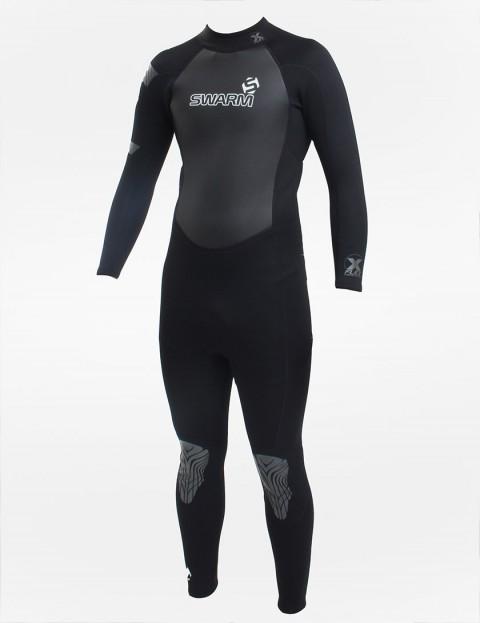 Swarm Wetsuits Fullsuit 3/2mm Summer 2016 - Grey/Black
