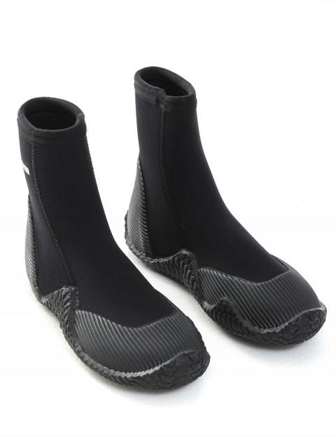 Swarm Wetsuits Full Round Toe 5mm Wetsuit boots - Black