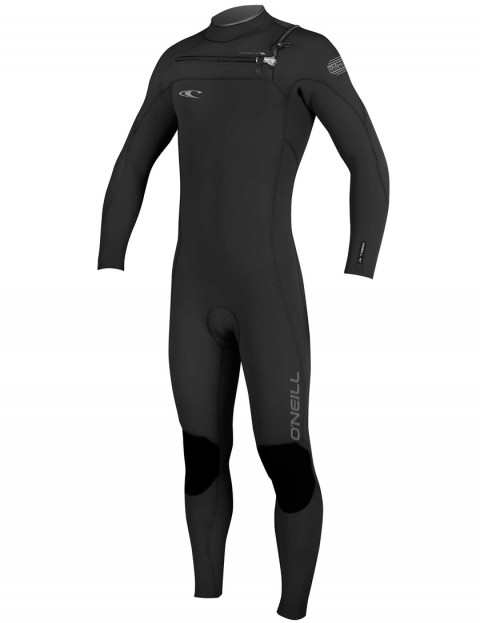 O'Neill Hyperfreak Chest Zip 3/2mm wetsuit 2017 - Black/Black/Graphite