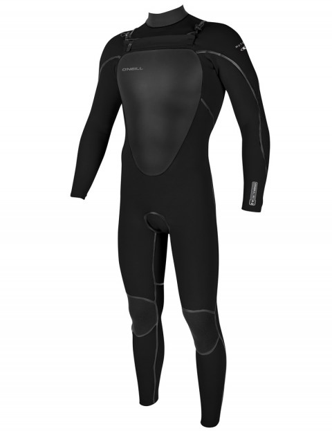 O'Neill Mutant Chest Zip 5/4mm Wetsuit 2017 - Black/Black