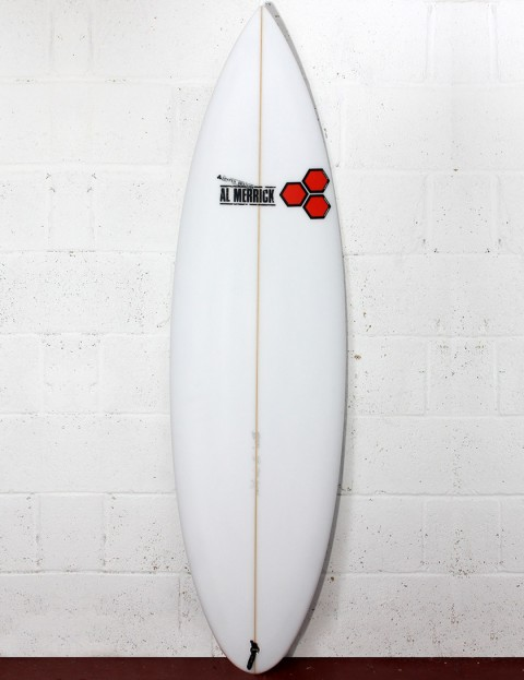 Channel Islands Fred Rubble (Rounded Pin) Surfboard 5ft 8 - White
