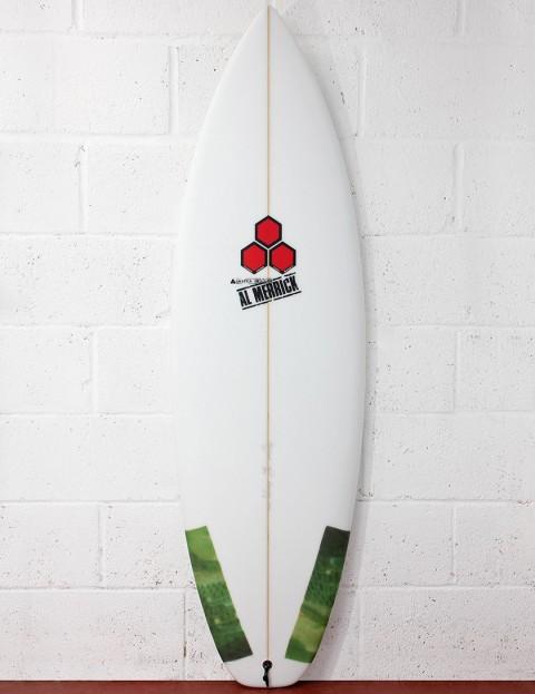 Channel Islands Dumpster Diver EPS Epoxy Surfboard 5ft 10 FCS - White