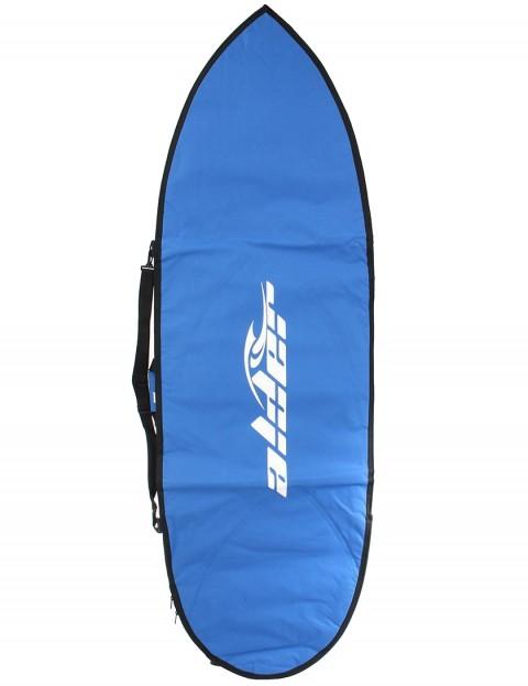 Alder Hybrid Cover 5mm Surfboard bag 6ft 9 - Royal Blue