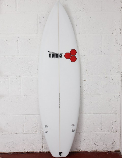 Channel Islands Fred Rubble EPS Epoxy (Squash) Surfboard 6ft 2 FCS - White