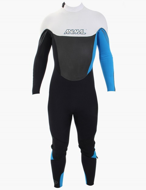 Animal Wetsuits Amp V2 3/2mm Summer 2013 - Black/Cyan/Grey