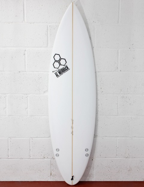 Channel Islands Semi-Pro 12 (Rounded Pin) Surfboard 6ft 1 FCS - White