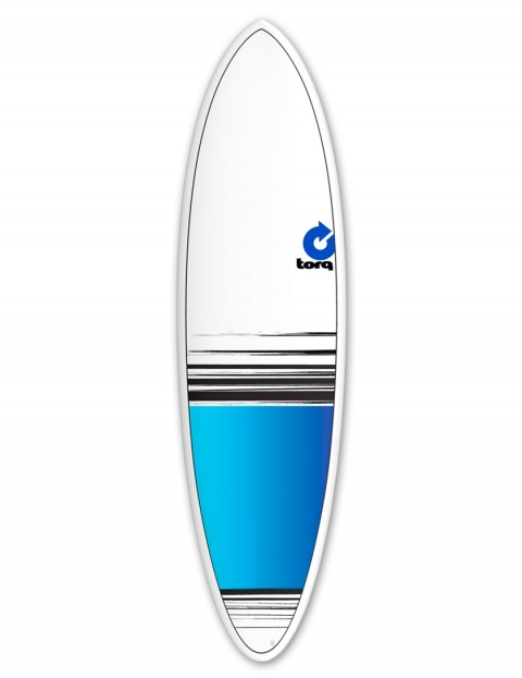 Torq Mod Fun surfboard 6ft 8 - Blue Fade