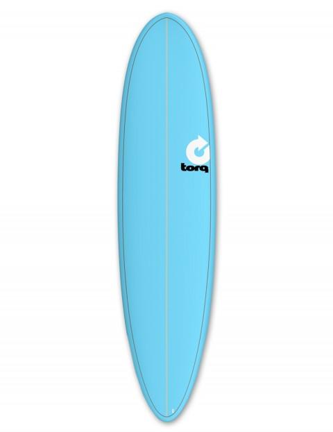 Torq Mod Fun surfboard 7ft 6 - Blue/Pinline