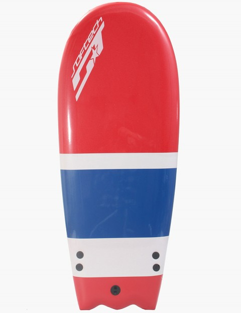Softech Surfboards Rocket 52inch 4ft 4 Surfboard/Bodyboard - Red