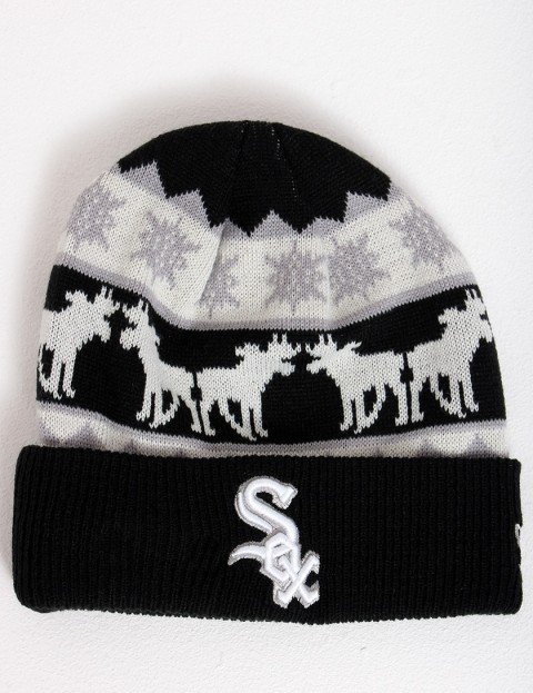 New Era The Mooser Chicago White Sox Cuff beanie - Black