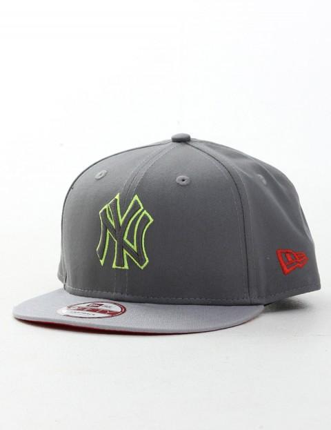 New Era Pop Outline New York Yankees 9FIFTY Snapback cap - Steel Grey/Yellow