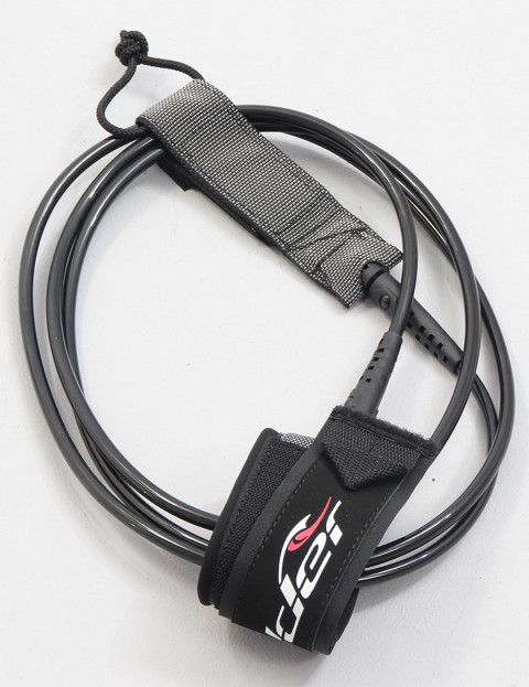 Alder Premium 8ft Surf leash - Black