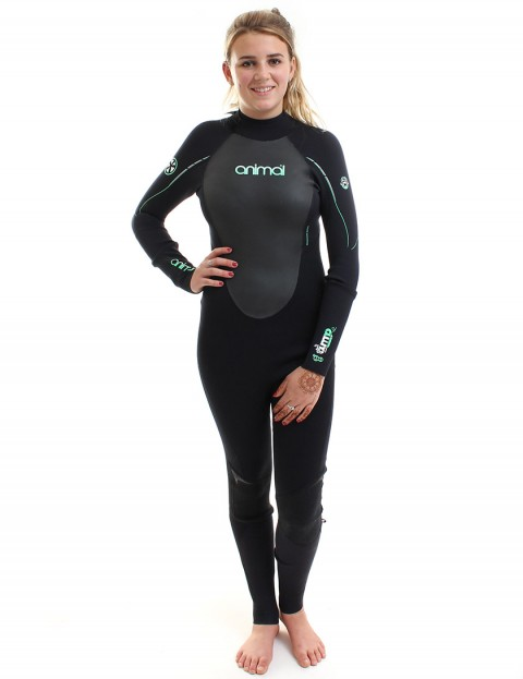 Animal Wetsuits Ladies Amp V2 3/2mm Summer 2014 - Black/Green