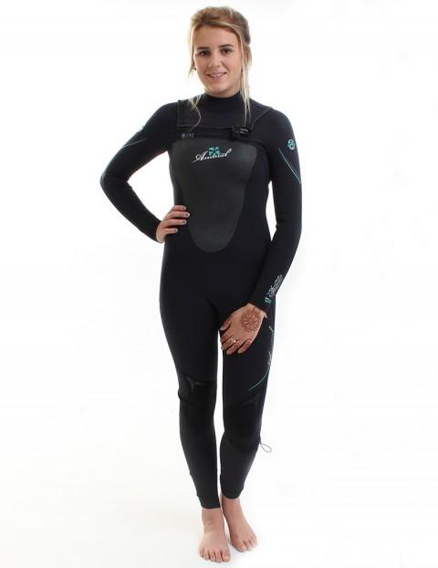 Animal Wetsuits Ladies Animator OFZ 3/2mm Summer 2014 - Black Atlantis